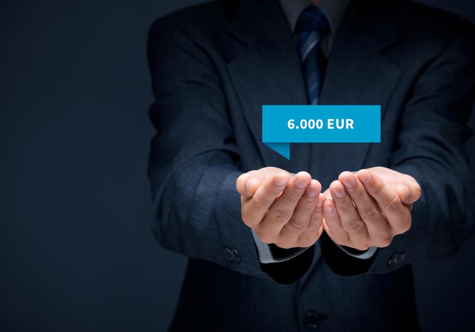 6000 EUR